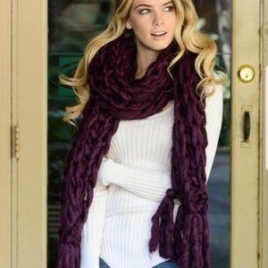 Giant Chunky Knit Scarf